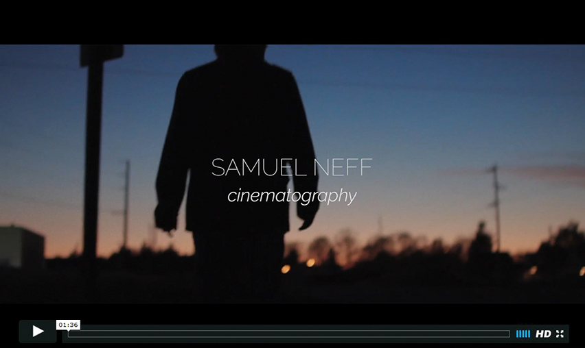 Neff Visuals Cinematography Reel 2016